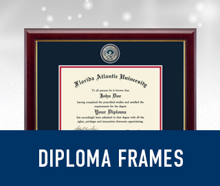 Picture of diploma frame with sparkling background. Click to shop Diploma Frames.