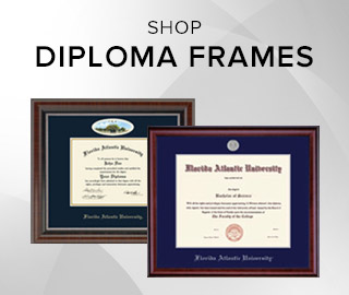 Picture of framed diplomas. Click to shop Diploma Frames.