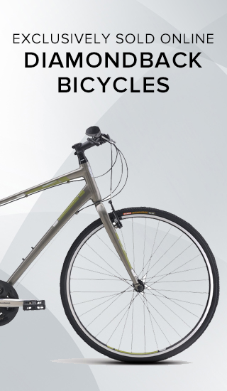 Picture of bicycle. Exclusively sold online: Diamondback Bicycles. Click to shop now.